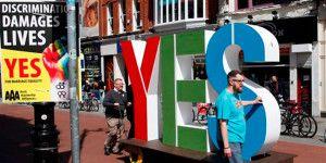 Irlanda aprueba matrimonio homosexual