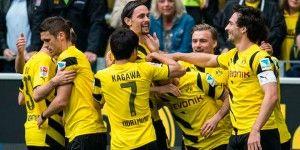 Dortmund se acerca a puestos europeos