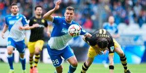 Hoffenheim y Dortmund no pasan del empate