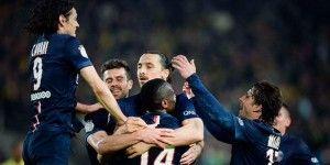 Zlatan regresa en triunfo del PSG