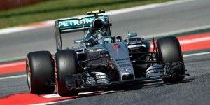 Rosberg se queda con la pole en España