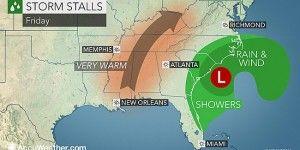 Ciclón golpeará costas del Atlántico de EE.UU.