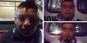 Detienen a tres secuestradores en el DF