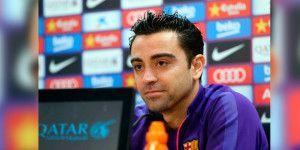 Xavi Hernández se va del Barcelona