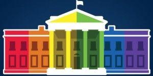 La Casa Blanca se pinta con los colores de la bandera LGBT