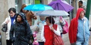 Pronostican lluvias muy fuertes para ocho estado del país