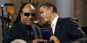 Prince y Stevie Wonder cantaron juntos en la Casa Blanca