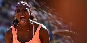 Serena Williams gana su tercer Roland Garros