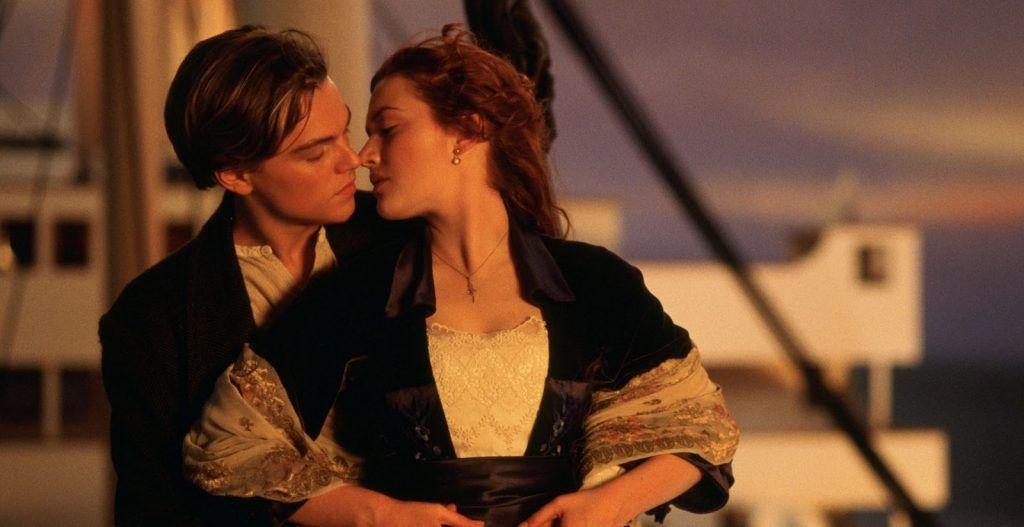 Titanic+kiss