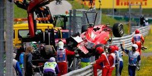 Alonso choca en el Gran Premio de Austria