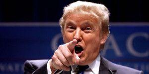 Corren a dirigente republicano por evento contra Trump