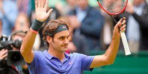 Federer avanza a la final del torneo de Halle