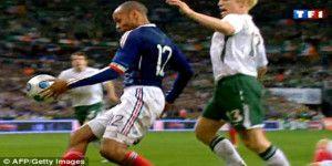 FIFA sobornó a Irlanda para evitar escándalo por mano de Henry