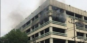 Controlan incendio en la PGJDF