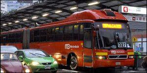 Así roban celulares en el Metrobús