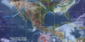 Se prevén lluvias en la mayor parte del país