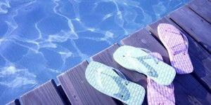 Las desventajas de usar sandalias