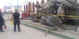 Camión atropella a peregrinos en Zacatecas