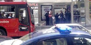 Detienen a cuatro presuntos ladrones en el Metrobús