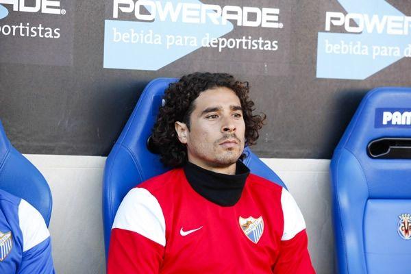 Ochoa no había tenido la continuidad deseada en el Málaga. Foto de Mexsport