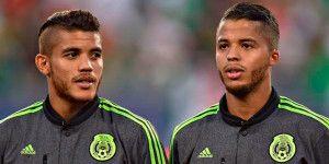 Jonathan y Giovani dos Santos, en duda para la final