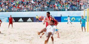 México, con pie y medio fuera del Mundial de playa