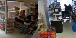 Video: asalto en una tienda Oxxo del Distrito Federal