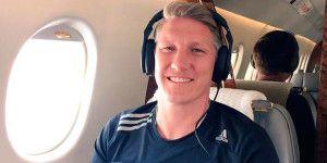 Schweinsteiger se despide de los aficionados del Bayern