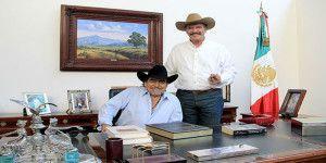 Vicente Fox se despide de Joan Sebastian