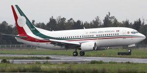 Se accidenta avión de la Presidencia de la República