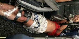 Amarran a pasajero borracho en vuelo ruso
