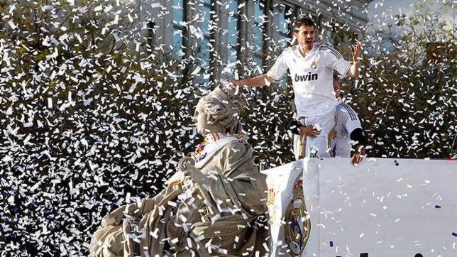 Se repasan los mejores momentos de Iker Casillas con el Real Madrid. Foto de ABC.