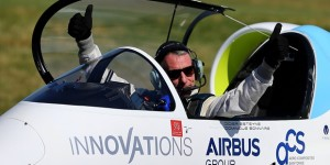 En disputa primer vuelo eléctrico sobre Canal de la Mancha