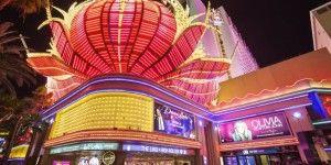 Video: así se ve una noche entera en Las Vegas