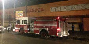 Sofocan conato de incendio en Mercado Zaragoza