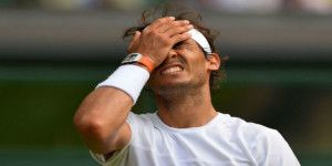 Eliminan a Nadal de Wimbledon