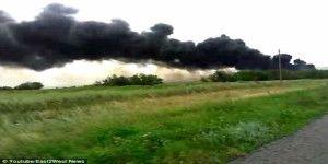 Nuevo video sobre el accidente de avión en Ucrania