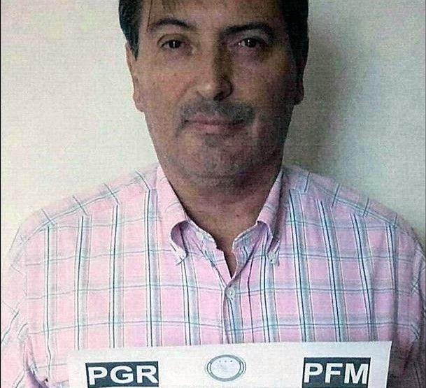 Reynoso Femat había sido detenido en León, Guanajuato, por la PGR