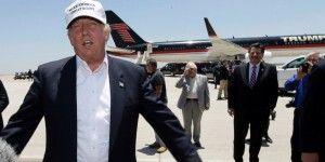 Reciben con abucheos a Donald Trump en frontera de Laredo
