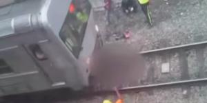 Dos trenes atropellan a vendedor ambulante en Brasil