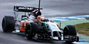 """""""Checo"""" saldrá cuarto en GP de Bélgica"""