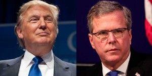 Trump y Bush estarán en el primer debate de republicanos en EE.UU.