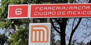 Persona se lanza a las vías en metro Ferrería