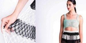 Hace colección de ropa con impresora 3D
