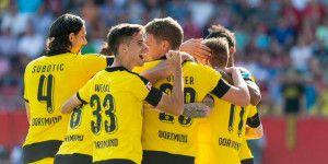 Borussia Dortmund mantiene el paso goleador