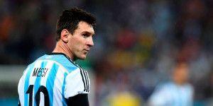 Messi estará en amistoso contra México