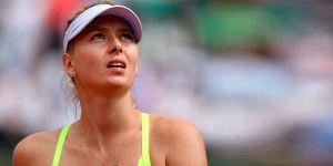 Maria Sharapova se perderá el Abierto de Canadá por lesión