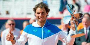 Rafael Nadal gana el Abierto de Hamburgo
