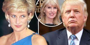 Donald Trump trató de seducir a la princesa Diana
