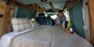 Camionetas son los nuevos hoteles de Nueva York